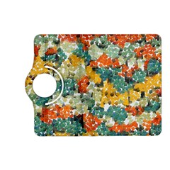 Paint strokes in retro colors Kindle Fire HD (2013) Flip 360 Case