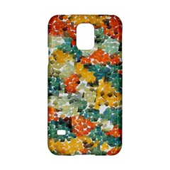 Paint Strokes In Retro Colors Samsung Galaxy S5 Hardshell Case