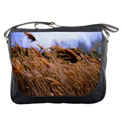 Blowing Prairie Grass Messenger Bag