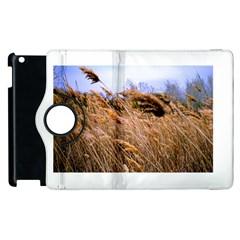 Blowing prairie Grass Apple iPad 2 Flip 360 Case