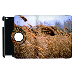 Blowing Prairie Grass Apple Ipad 3/4 Flip 360 Case