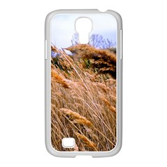 Blowing Prairie Grass Samsung Galaxy S4 I9500/ I9505 Case (white)