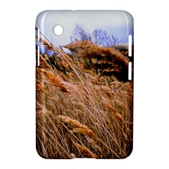 Blowing prairie Grass Samsung Galaxy Tab 2 (7 ) P3100 Hardshell Case