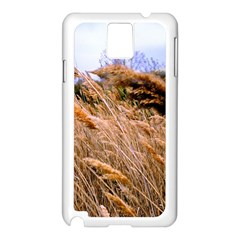 Blowing prairie Grass Samsung Galaxy Note 3 N9005 Case (White)