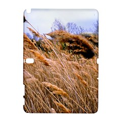Blowing prairie Grass Samsung Galaxy Note 10.1 (P600) Hardshell Case