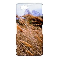 Blowing prairie Grass Sony Xperia Z1 Compact Hardshell Case