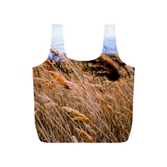Blowing prairie Grass Reusable Bag (S)