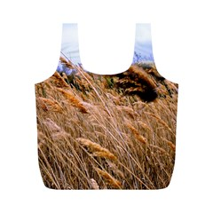 Blowing prairie Grass Reusable Bag (M)