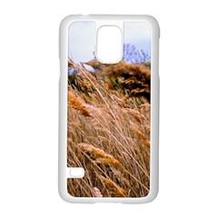 Blowing Prairie Grass Samsung Galaxy S5 Case (white)