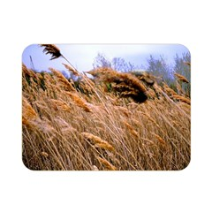Blowing prairie Grass Double Sided Flano Blanket (Mini)