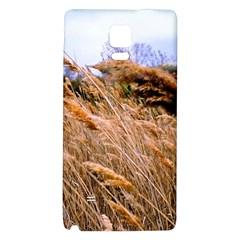 Blowing prairie Grass Samsung Note 4 Hardshell Back Case