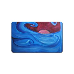 Blown Ocean Waves Magnet (name Card)