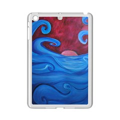 Blown Ocean Waves Apple iPad Mini 2 Case (White)