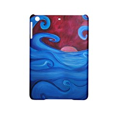 Blown Ocean Waves Apple iPad Mini 2 Hardshell Case