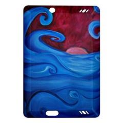 Blown Ocean Waves Kindle Fire HD (2013) Hardshell Case