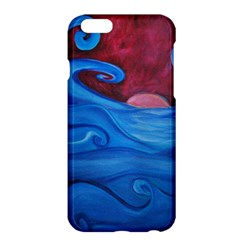 Blown Ocean Waves Apple iPhone 6 Plus Hardshell Case