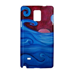 Blown Ocean Waves Samsung Galaxy Note 4 Hardshell Case