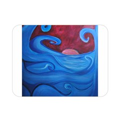 Blown Ocean Waves Double Sided Flano Blanket (Mini)