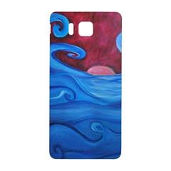 Blown Ocean Waves Samsung Galaxy Alpha Hardshell Back Case