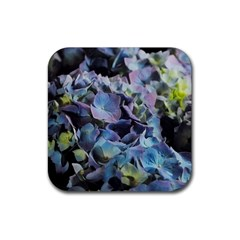 Blue And Purple Hydrangea Group Drink Coasters 4 Pack (square)