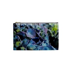 Blue And Purple Hydrangea Group Cosmetic Bag (small)