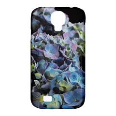 Blue And Purple Hydrangea Group Samsung Galaxy S4 Classic Hardshell Case (pc+silicone)