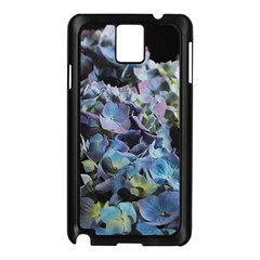 Blue and Purple Hydrangea Group Samsung Galaxy Note 3 N9005 Case (Black)