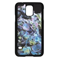 Blue and Purple Hydrangea Group Samsung Galaxy S5 Case (Black)