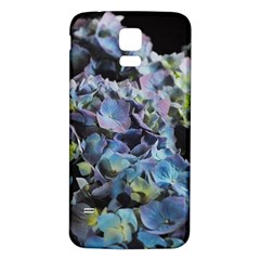 Blue and Purple Hydrangea Group Samsung Galaxy S5 Back Case (White)
