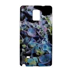 Blue And Purple Hydrangea Group Samsung Galaxy Note 4 Hardshell Case