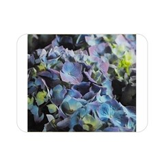 Blue and Purple Hydrangea Group Double Sided Flano Blanket (Mini)