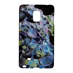 Blue and Purple Hydrangea Group Samsung Galaxy Note Edge Hardshell Case