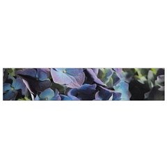 Blue and Purple Hydrangea Group Flano Scarf (Small)