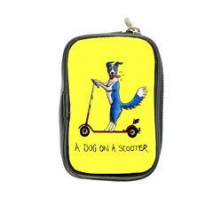A Dog On A Scooter Coin Purse