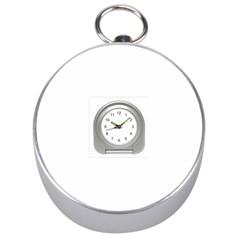 Alarm Silver Compass