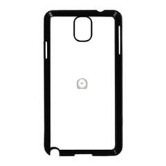 Alarm Samsung Galaxy Note 3 Neo Hardshell Case (Black)