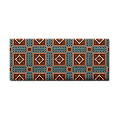 Squares Rectangles And Other Shapes Pattern Hand Towel