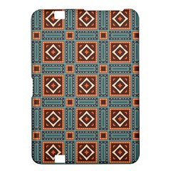 Squares Rectangles And Other Shapes Pattern Kindle Fire Hd 8 9  Hardshell Case