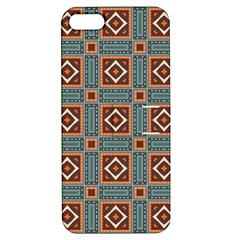 Squares Rectangles And Other Shapes Pattern Apple Iphone 5 Hardshell Case With Stand