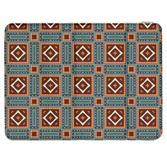 Squares rectangles and other shapes pattern Samsung Galaxy Tab 7  P1000 Flip Case