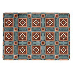 Squares rectangles and other shapes pattern Samsung Galaxy Tab 10.1  P7500 Flip Case