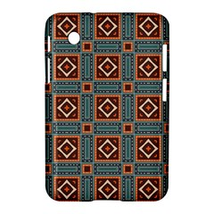 Squares Rectangles And Other Shapes Pattern Samsung Galaxy Tab 2 (7 ) P3100 Hardshell Case