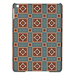 Squares rectangles and other shapes pattern Apple iPad Air Hardshell Case