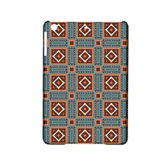 Squares rectangles and other shapes pattern Apple iPad Mini 2 Hardshell Case