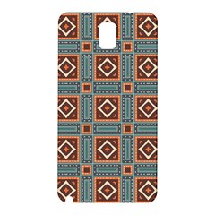 Squares Rectangles And Other Shapes Pattern Samsung Galaxy Note 3 N9005 Hardshell Back Case