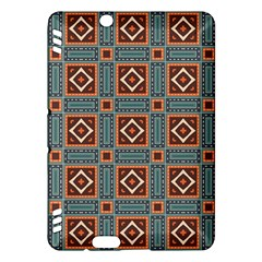 Squares rectangles and other shapes pattern Kindle Fire HDX Hardshell Case