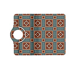 Squares rectangles and other shapes pattern Kindle Fire HD (2013) Flip 360 Case
