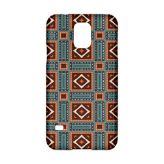 Squares rectangles and other shapes pattern Samsung Galaxy S5 Hardshell Case