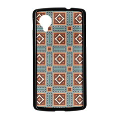 Squares rectangles and other shapes pattern Google Nexus 5 Case (Black)