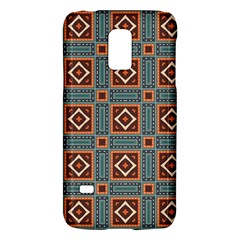 Squares rectangles and other shapes pattern Samsung Galaxy S5 Mini Hardshell Case